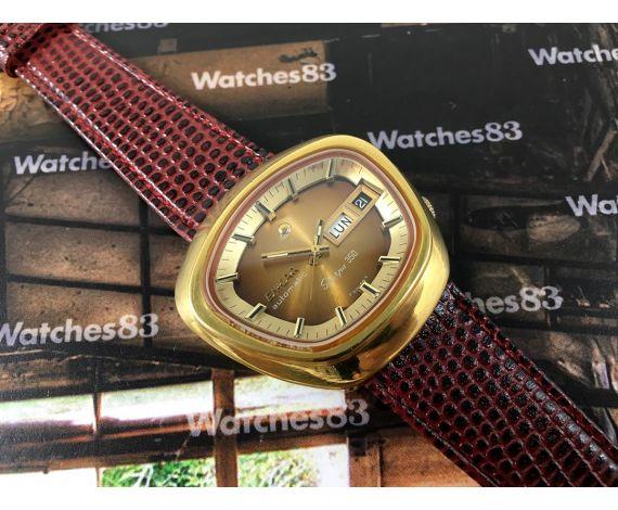 Enicar Sherpa 350 Reloj vintage suizo automático Cal AR 1670 *** Espectacular ***