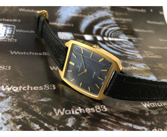 Certina Jubilé 70s manual winding vintage watch New from old Stock