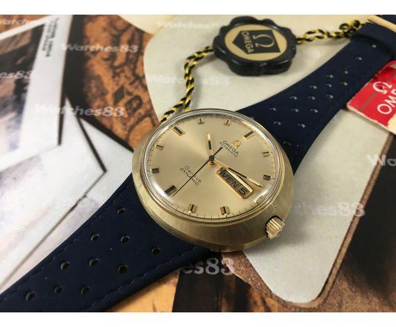 Omega Dynamic Genève Reloj antiguo Automático Cal 752 Tool 107 NOS Nuevo de antiguo Stock *** RAREZA ***
