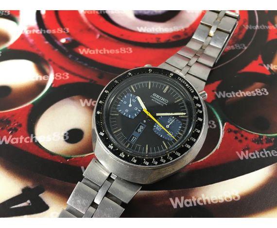 Seiko Automatic Bullhead Reloj cronografo antiguo automático Ref 6138-0040 JAPAN J Cal 6138