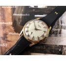 ARCADIA Reloj vintage de cuerda plaqué OR Gran diámetro 17 Rubis *** COLECCIONISTAS ***