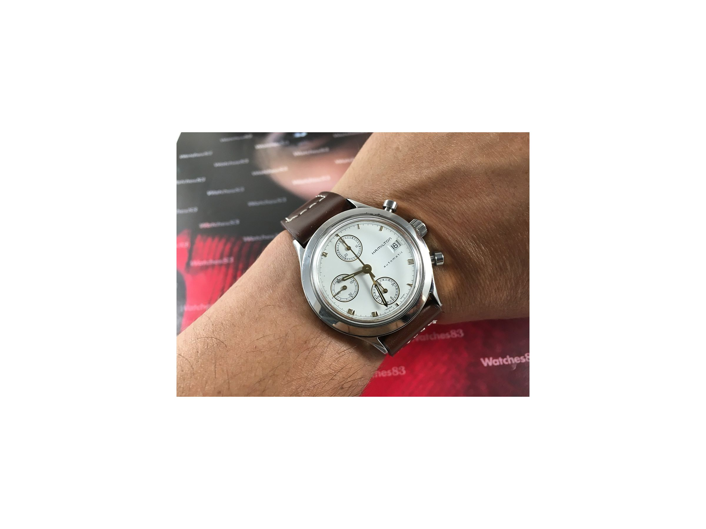 Automático Cronógrafo Crono 9941a Hamilton Reloj Cal Vintage Valjoux ZTwkiulXOP