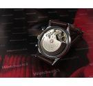 Chrono HAMILTON 9941A vintage automatic chronograph watch Cal Valjoux 7750