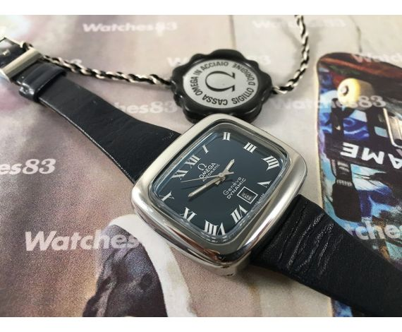 Omega Genève Dynamic NOS Reloj suizo antiguo Automatico *** Nuevo de antiguo Stock *** UNISEX