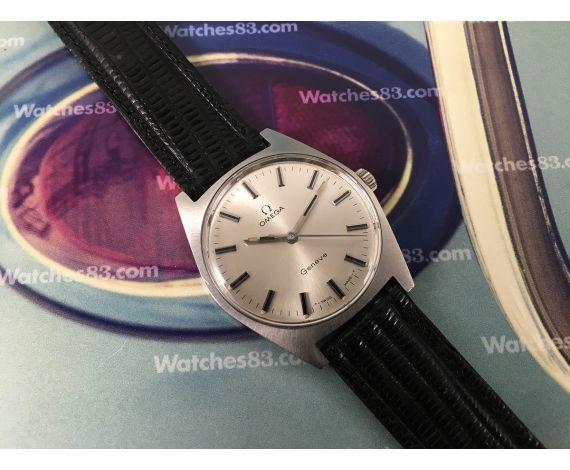 Omega Genève Reloj suizo antiguo de cuerda Cal 601 Ref. 135.041 + ESTUCHE *** Casi NOS ***