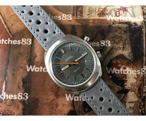 Omega Geneve Chronostop Reloj antiguo cronógrafo de cuerda Cal 865 Ref. 145.009