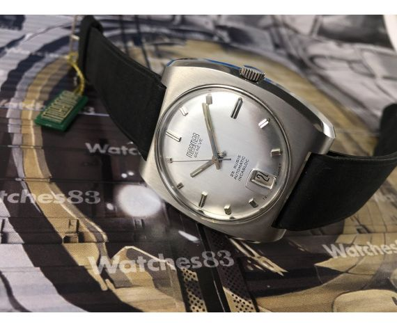 Miramar Genève 25 rubis Incabloc NOS Reloj suizo vintage automatico *** Nuevo de antiguo Stock ***