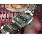 Duward Aquastar automatic NOS Reloj suizo vintage automático. Nuevo de antiguo Stock *** OVERSIZE ***