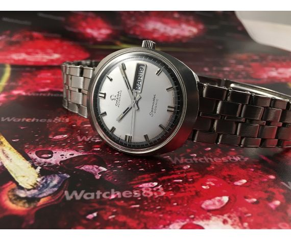 Vintage swiss automatic watch Omega Seamaster Cosmic Ref 166035 Tool 107