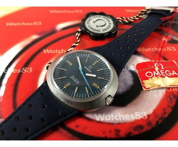 NOS Omega Dynamic Genève Reloj suizo antiguo de cuerda Cal 601 Ref. 135.033 Tool 107 *** Nuevo de antiguo Stock ***