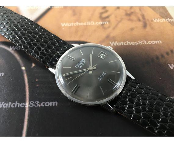 Miramar Genève NOS Reloj suizo antiguo de cuerda 21 rubis *** Nuevo de antiguo Stock ***