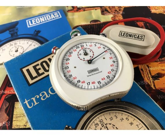 Heuer Leonidas Vintage manual wind Stopwatch Trackmaster Ref G4 / 65 70s *** BEAUTIFUL ***