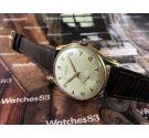 Certina Cal KF330 vintage swiss manual winding watch plaqué OR 38.2 mm JUMBO *** COLLECTORS ***