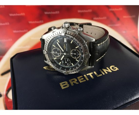 Breitling Chronomat Vintage chronograph chrono automatic swiss watch 40mm Ref 81950 *** SPECTACULAR ***