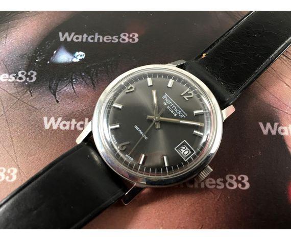 Thermidor Reloj suizo antiguo de cuerda NOS 17 rubis *** Nuevo de antiguo Stock ***