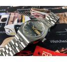 NOS Duward AQUASTAR 200M Reloj suizo antiguo automatico 20 ATM *** Nuevo de antiguo Stock ***
