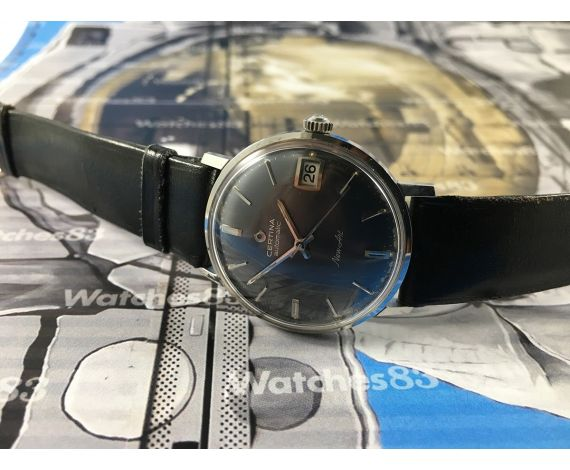 Certina NEW ART automatic vintage swiss watch New old stock 70s NOS