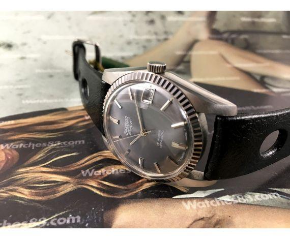 Reloj Miramar Genève NOS suizo de cuerda vintage Tipo Rolex Oyster Datejust *** Nuevo de antiguo Stock ***