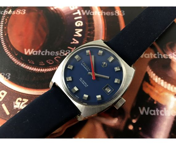 Tressa NOS vintage swiss automatic watch 25 jewels *** New Old Stock ***