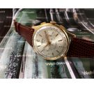 AUREOLE Vintage swiss manual winding watch chronograph Plaqué OR *** SPECTACULAR ***