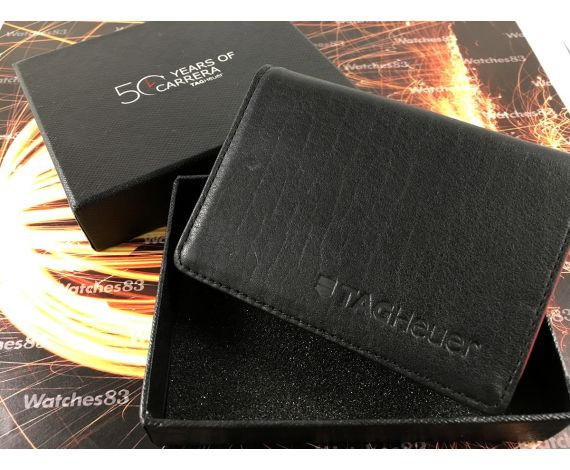 CARRERA TAG HEUER original card holders 50 YEARS OF CARRERA *** Brand New ***
