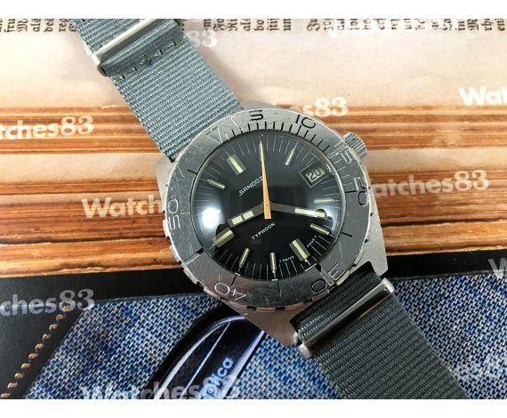 Diver vintage Sandoz Typhoon 1000M swiss automatic watch *** COLLECTORS ***