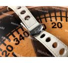 Original TAG HEUER strap band Commemorative of the 50 years of the TAG HEUER CARRERA *** Deployant closure ***