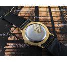 Duward NOS Reloj suizo antiguo de cuerda Plaqué OR *** Nuevo de antiguo Stock ***