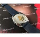 Miramar Geneve Old swiss hand wind watch N.O.S. 17 Rubis Blue Dial *** New Old Stock ***
