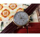 Baume & Mercier Chronograph vintage manual winding watch *** Plaqué OR ***