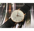 Duward N.O.S. vintage swiss hand winding watch Plaqué OR *** New old Stock ***