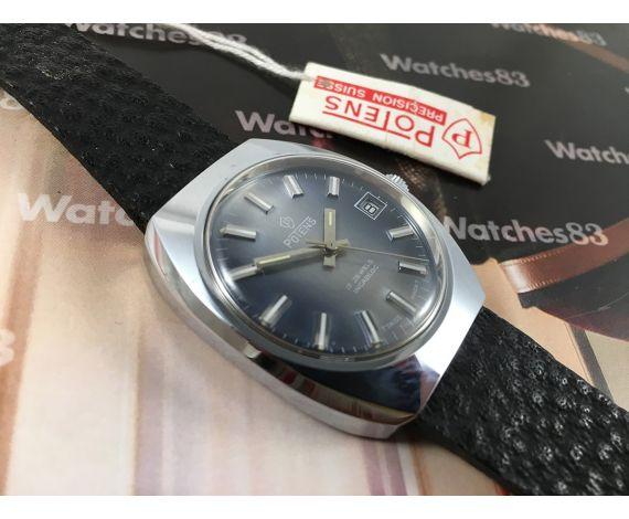 Reloj Potens NOS suizo antiguo de cuerda 17 jewels *** Nuevo de antiguo Stock ***