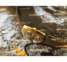 Miramar Geneve Reloj suizo antiguo de cuerda NOS 17 Rubis Dial azul *** Nuevo de antiguo Stock ***