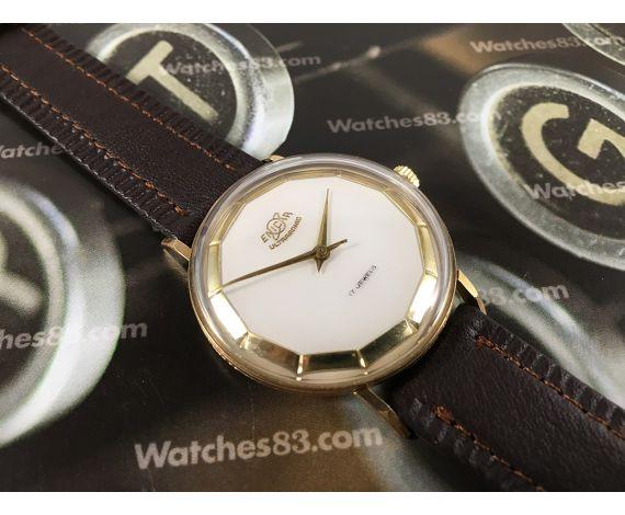 Enicar ULTRASONIC vintage swiss hand winding watch 17 jewels *** BEAUTIFUL ***