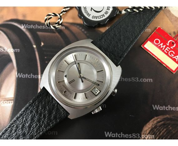 N.O.S. Omega Seamaster MEMOMATIC vintage swiss automatic alarm watch Cal 980 Ref. 166.072 New Old Stock *** COLLECTORS ***