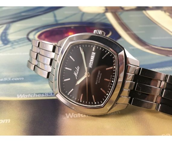 Mido MULTIFORT 50M vintage swiss automatic watch Aquadrum 8834 Sapphire Crystal A/H 28800 *** Spectacular ***