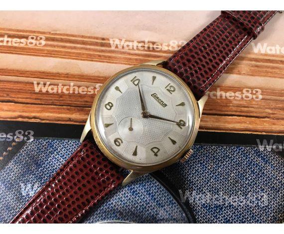 EXACTUS Swiss antique hand wind watch Plaqué OR *** OVERSIZE ***