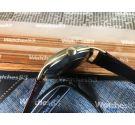 EXACTUS Reloj suizo antiguo de cuerda Plaqué OR *** OVERSIZE ***