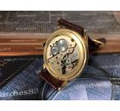 EXACTUS Swiss antique hand wind watch Plaqué OR *** OVERSIZE ***