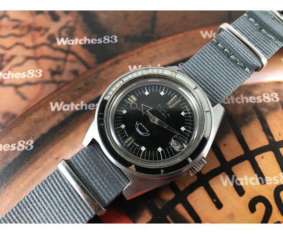 Squale Reloj suizo antiguo Flica Diver automático 250 Supermatic GRAN DIÁMETRO