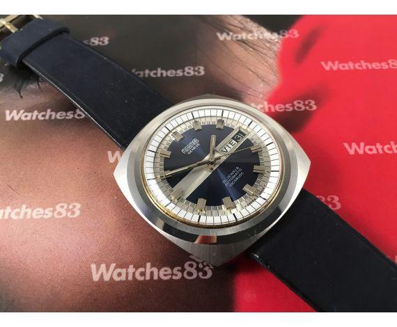 Miramar Genève 25 jewels Incabloc NOS Reloj suizo vintage automatico Nuevo de antiguo Stock *** ESPECTACULAR ***