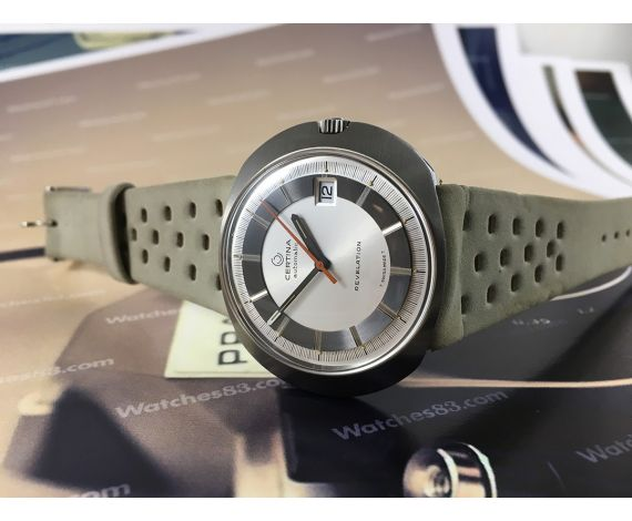 Certina REVELATION Reloj antiguo automático New old stock 70s