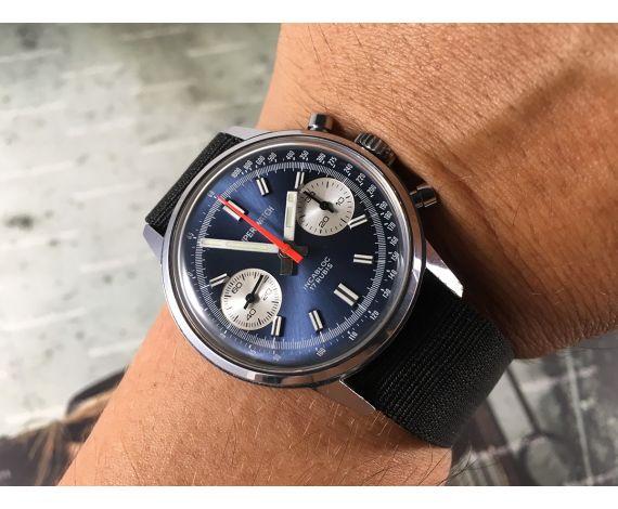 NOS SUPER WATCH Reloj cronógrafo suizo antiguo de cuerda Cal 7733 New Old Stock *** COLECCIONISTAS ***