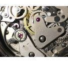 NOS SUPER WATCH Swiss vintage hand wind chronograph watch Cal 7733 New Old Stock *** COLLECTORS ***