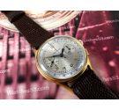 Helvetia Reloj suizo antiguo Cronógrafo de cuerda Oversize *** ESPECTACULAR ***
