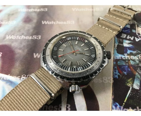 DIFOR Vintage swiss automatic watch 25 jewels Cal PUW 1561 21600 A/h *** OVERSIZE ***