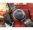 Reloj antiguo automatico suizo Radiant Blumar 25 jewels Oversize *** NOS ***