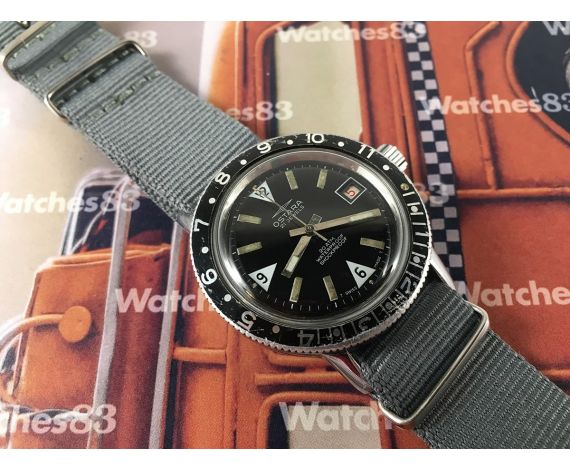 Ostara Diver 20 ATMOS Vintage hand wind watch *** BEAUTIFUL ***