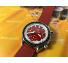 Omega Speedmaster Michael Schumacher Vintage automatic chronograph watch Ref. 175.0032.1-175.033.1 Cal 1143 *** SPECTACULAR ***