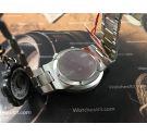 NOS Omega Geneve Chronostop UFO Cal 920 Oversize Ref 146.012 Reloj suizo antiguo de cuerda Crono *** NUEVO DE ANTIGUO STOCK ***